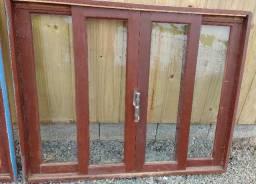 Tabuas e janelas usadas