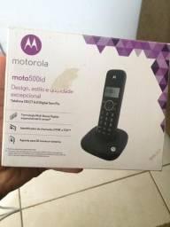 Telefone Motorola moto500id DECT 6.0 sem fio