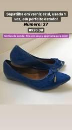 Sapatos usados de marca, em ótimo estado