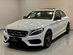 Mercedes c300 sport 2018 top c/8.000km. léo careta veículos - 2018
