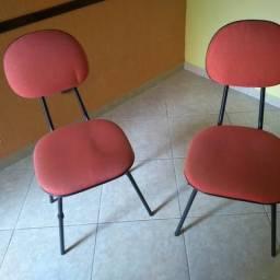 Cadeiras estofadas p/Cadeira Para Igrejas - Auditório - Escola - Recepção