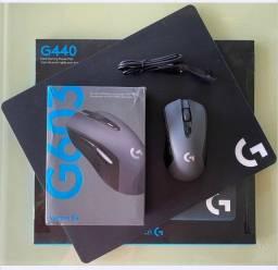 Mouse Logitech G603 + Mouse Pad G440