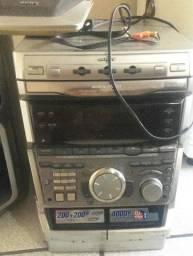 Central Sony Grx-800 Raridade