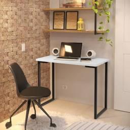 Mesa de Computador Alpha - Branco