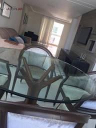 Apartamento com 3 dormitórios para alugar, 122 m² por R$ 7.700,00/mês - Pioneiros - Balneá