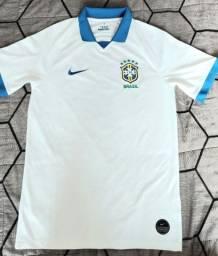 Camisa Seleção Brasileira BRANCA - edição comemorativa