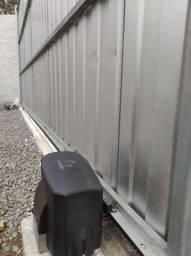 Movimentador instalado Imbituba motor de portão