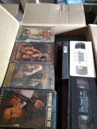 Fitas VHS variadas