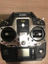 Radio controle Align T6 R$ 500,00