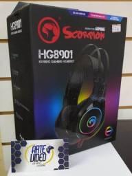Headset Gamer Scorpion Novo Lacrado