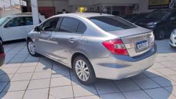 Honda Civic 2.0 LXR 2014 Cinza