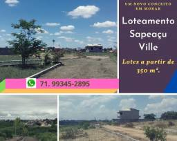 Título do anúncio: Loteamento Sapeaçu Ville, vista panorâmica, frente Rodoviária, escriturado