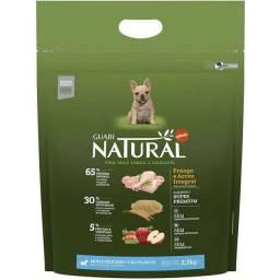 Ração Guabi Natural Frango e Arroz para Cães Filhotes Raças Mini e Pequena - 2,5Kg