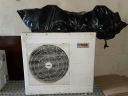 Ar condicionado 24000 Btus gela muito