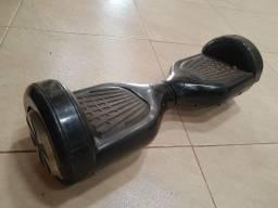 Hoverboard-Skate Elétrico Bluetooth Preto 6.5 polegadas-Usado