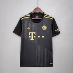 Título do anúncio: Camisas de times | Camisa reserva 21/22 Bayern de Munique