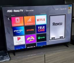 AOC Smart TV Roku 43 Polegadas