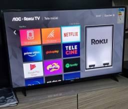 AOC Smart TV Roku 43 Polegadas