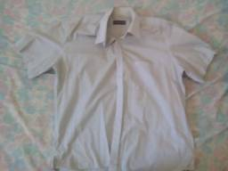 Camisas sociais e gravatas -  4 camisas e 4 gravatas