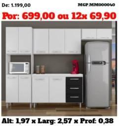 D Tudo em Moveis Para seu Lar - Cozinha Compactada com Balcão ou Armario Cozinha-Novo