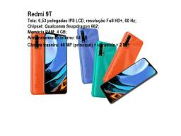 Redmi 9T 64 GB/4GB Ram Azul/Laranja/Verde