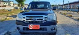 Ranger XLT 2.3 - 2009/10 Preta Gasolina/GNV 15m³ - Manual 16V.