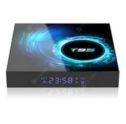 Tv Box T95 6K -4gb Ram  64gb Rom - com Bluetooth e comando de voz integrado