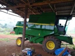 JD 1175 2012 19 pés completa com carrinho e kit feijão