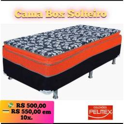 Cama Solteiro Pilow Pelmex Luxo