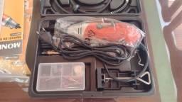 Micro Retifica 170W com acessórios - NOVA