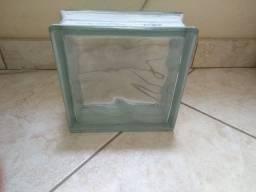 Título do anúncio: Bloco de vidro ( tijolo de vidro)