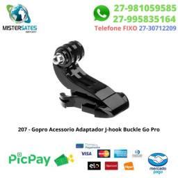 207 - Promoção - Gopro Acessório Adaptador J-hook Buckle Go Pro