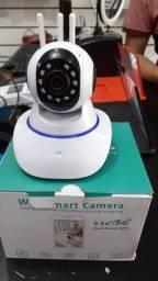 Título do anúncio: Câmera Ip Com 3 Antenas 360°