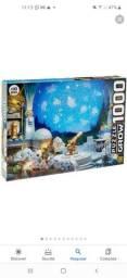 Título do anúncio: Quebra cabeça MONTADO, constelações GROW 1000 peças