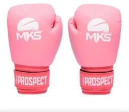 Luva Kickboxing Rosa