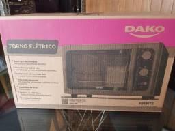 Forno Elétrico Dako Supreme Bancada 44 Litros com Grill Dourador - Preto