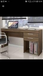 Mesa de escritório escrivaninha novo garantia QUEIMA ESTOQUE entrega hoje
