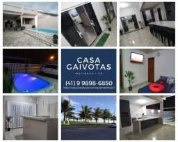 Título do anúncio: Alugo casa com piscina em Matinhos/PR a aproximadamente 400m da praia