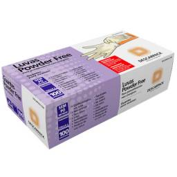 Título do anúncio: 1 (uma) caixa de Luvas marca Descarpak 100 unidades Tamanho P Nova Lacrada