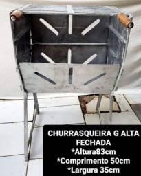 Título do anúncio: CHURRASQUEIRAS DESMONTÁVEL