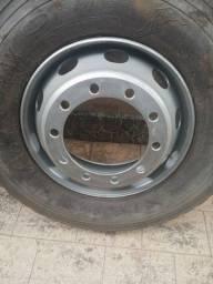 Rodas + Pneus ( caminhão)