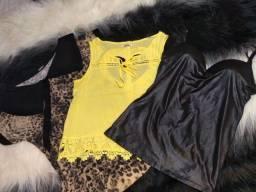 Blusas/camisete/casacos