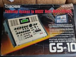 Pedaleira 3 Em 1 Boss Gs10 Guitar Effects System