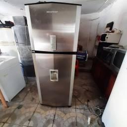 Título do anúncio: Refrigerador Brastemp 110v inox