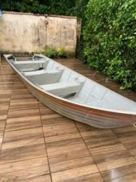 Barco alumínio 5,5metros