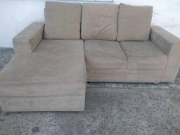 Sofá com chaise - entregamos