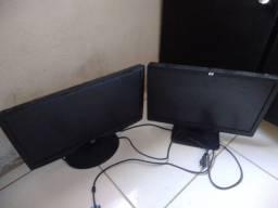2 monitores Hp