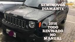 JEEP RENEGADE SPORT 2016 MITSUBISHI RAION FABIO MATTOS