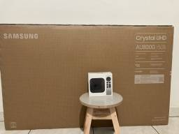 Desconto a vista Samsung UHD 4K 50 AU8000 + Apple TV 4K 2021 32gb