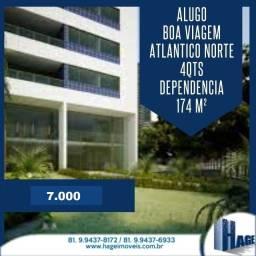 Oportunidade !!! 174 m²/4 qts / 3 vaga garagem/boa viagem /semi mobilhado/